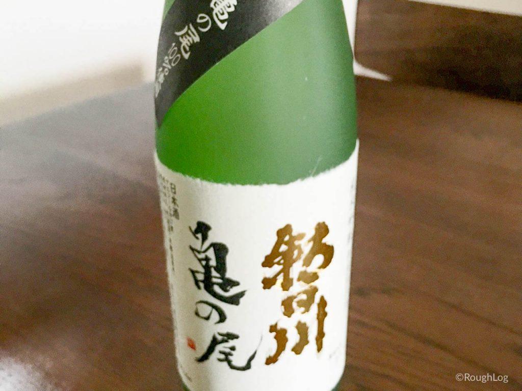 山形県河北町の地酒「亀の尾」