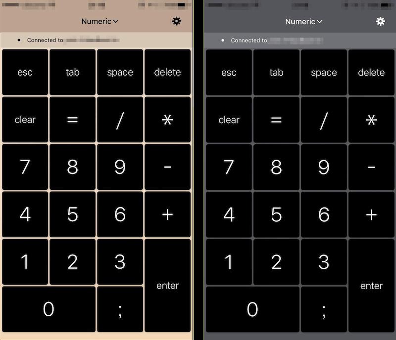 NumPadのテンキーカラーは3色