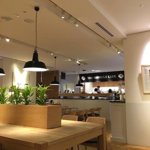 有楽町にある電源・WiFi完備の「THE MONOCLE CAFE(モノクルカフェ)」は駅近で使い勝手の良いカフェ