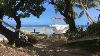 グアム旅行の過ごし方!ココパームガーデンビーチで透き通った海を満喫しよう!