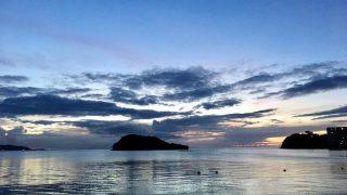 グアムでサンセット!グリル・アット・サンタフェで綺麗な海と夕日。