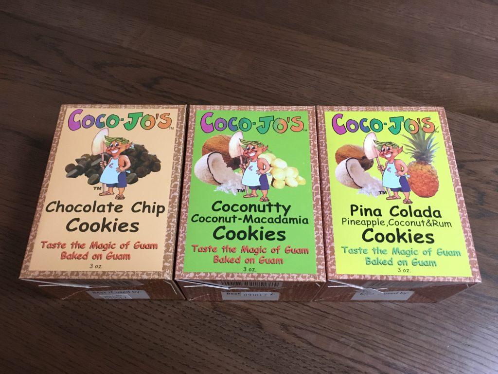 グアム定番お土産3:Coco-Jo's Coconutty(ココジョーズクッキー)