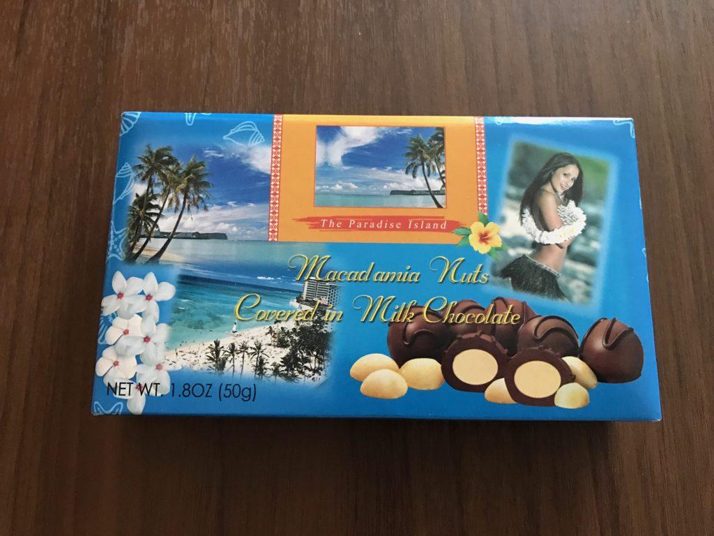 グアム定番お土産1:マカダミアナッツチョコレート