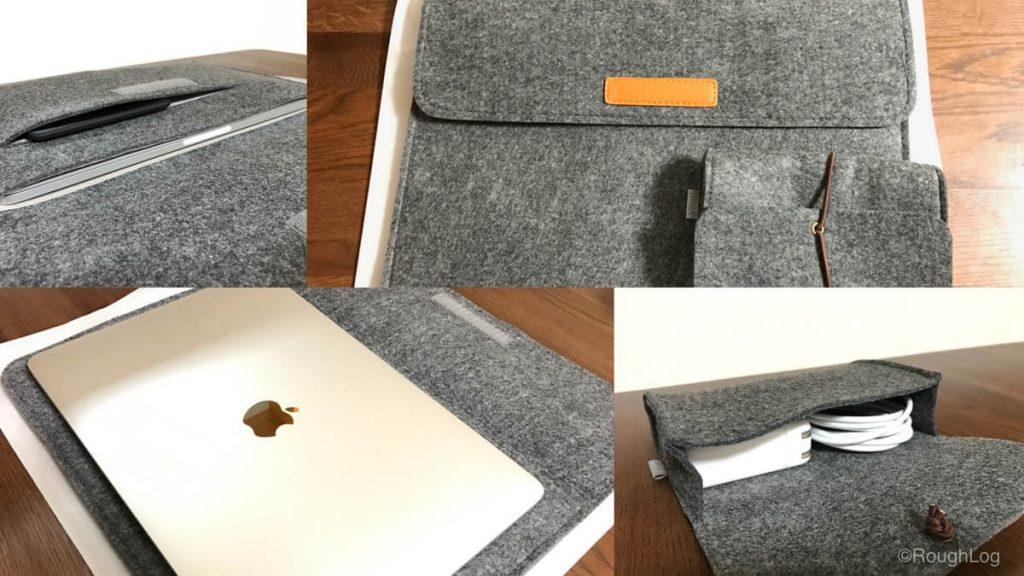 Inateck製MacBookインナーケース