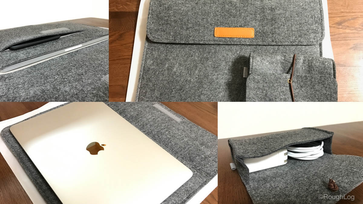 Inateck製MacBookインナーケース