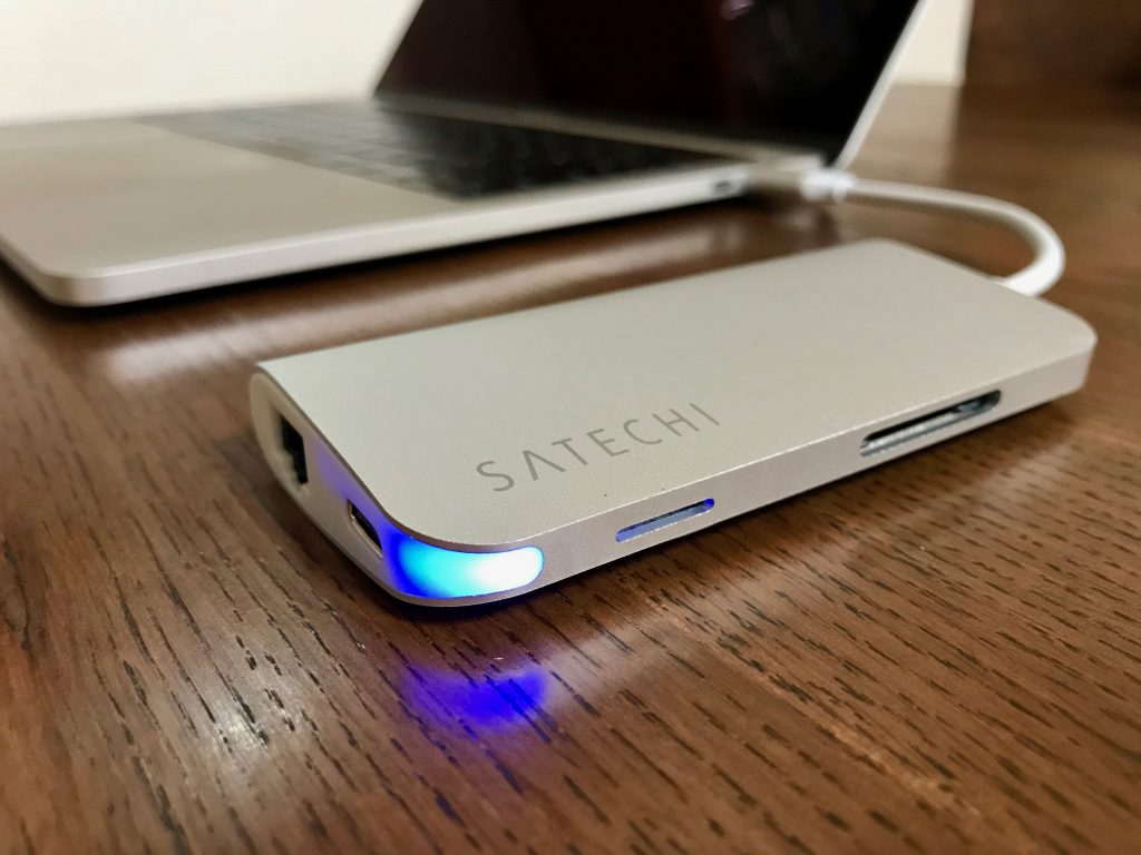 Satechi製USB-Cハブ