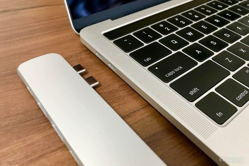 Satechi USB Type-C ProハブをMacBook Proに接続してみる