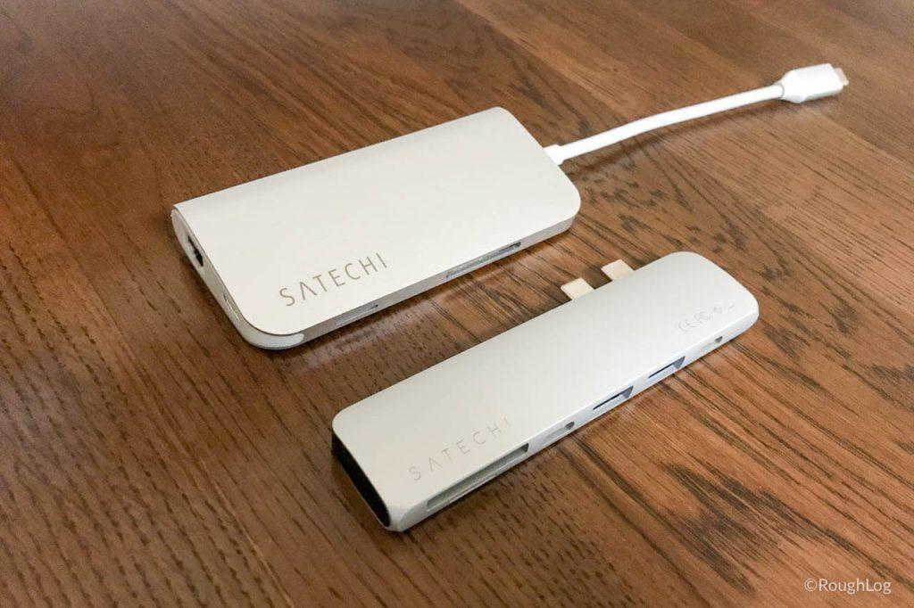 Satechi USB Type-C Proハブはコンパクトで持ち運びしやすい
