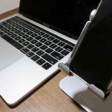 Satechi R1 タブレットスタンドとMacBook Pro