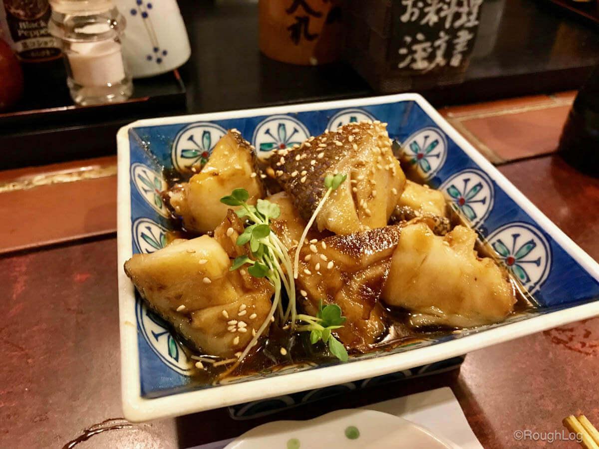 箱根湯本の居酒屋 歌流多(かるた)料理