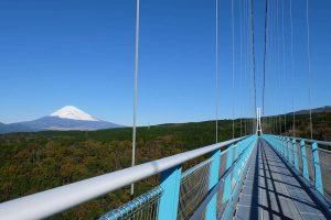 三島スカイウォークと富士山