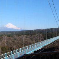 箱根近くの日本一長い吊橋!三島スカイウォークは富士山や駿河湾に沈む夕日を一望できる観光スポット
