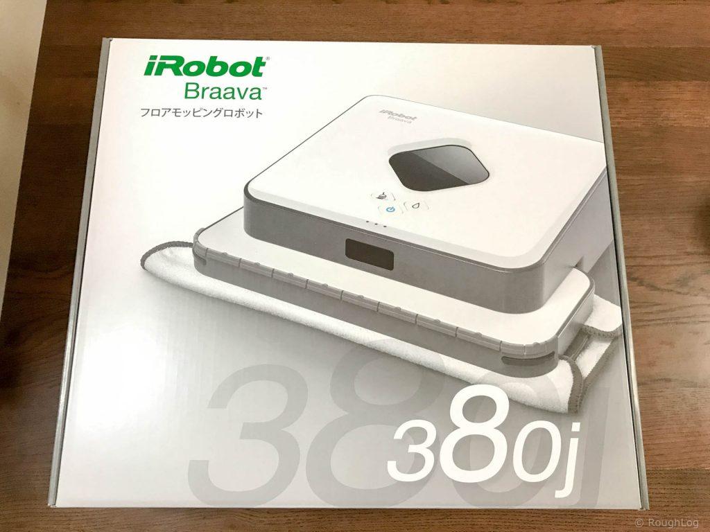 iRobot Braava 380j パッケージ