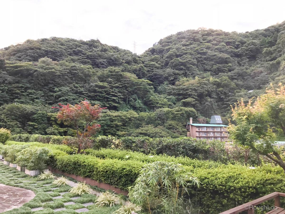 箱根 ホテルおかだ 景色