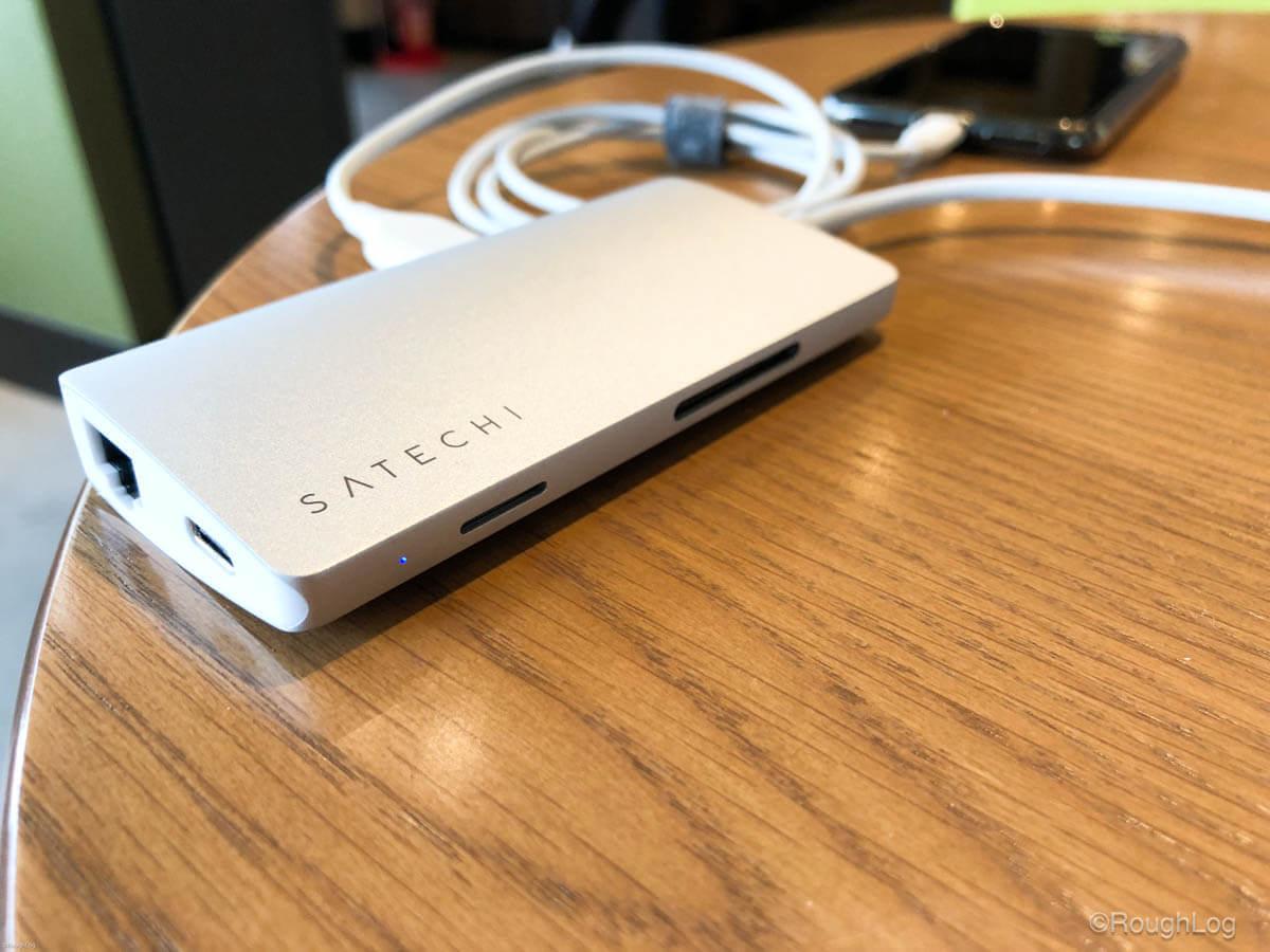 Satechi USB-CハブとiPhone