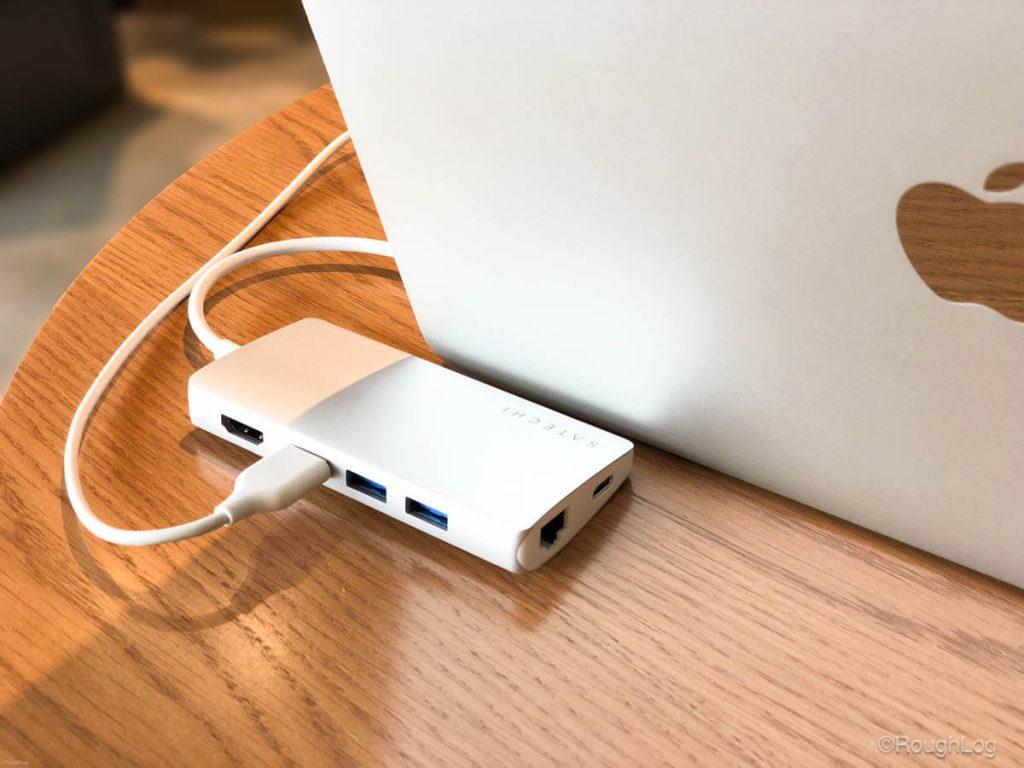 Satechi USB-CハブとMacBook Pro