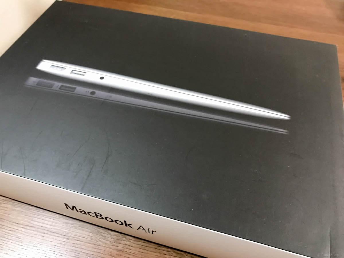 MacBook Airパッケージ
