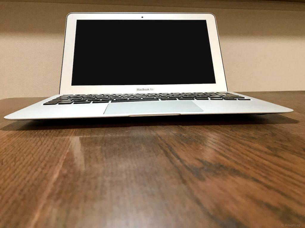 MacBook Air バッテリー膨張