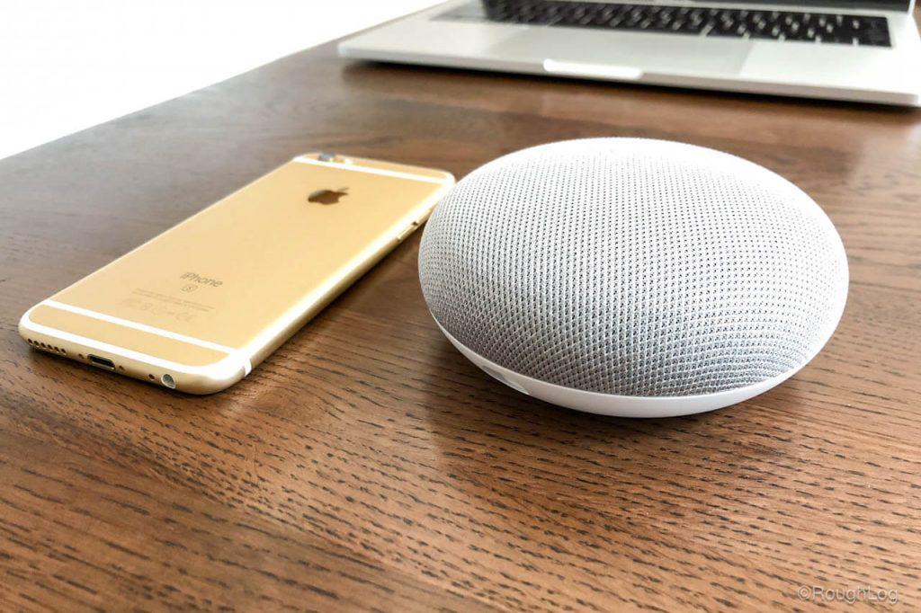 Google Home MiniとiPhone