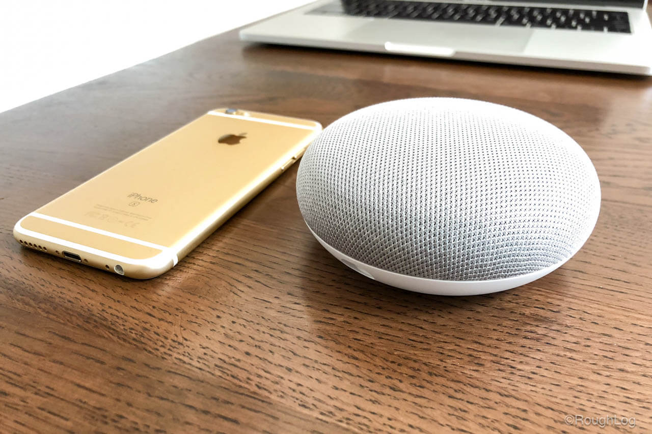 Google Home MiniとiPhone