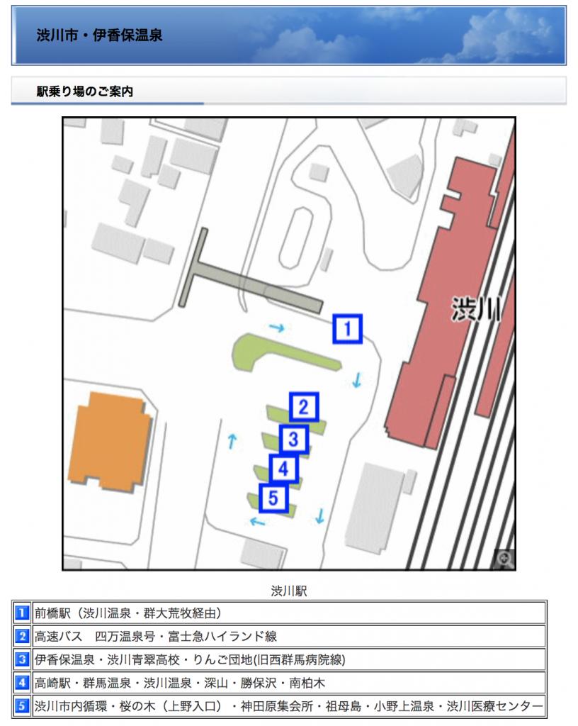渋川駅関越交通バス