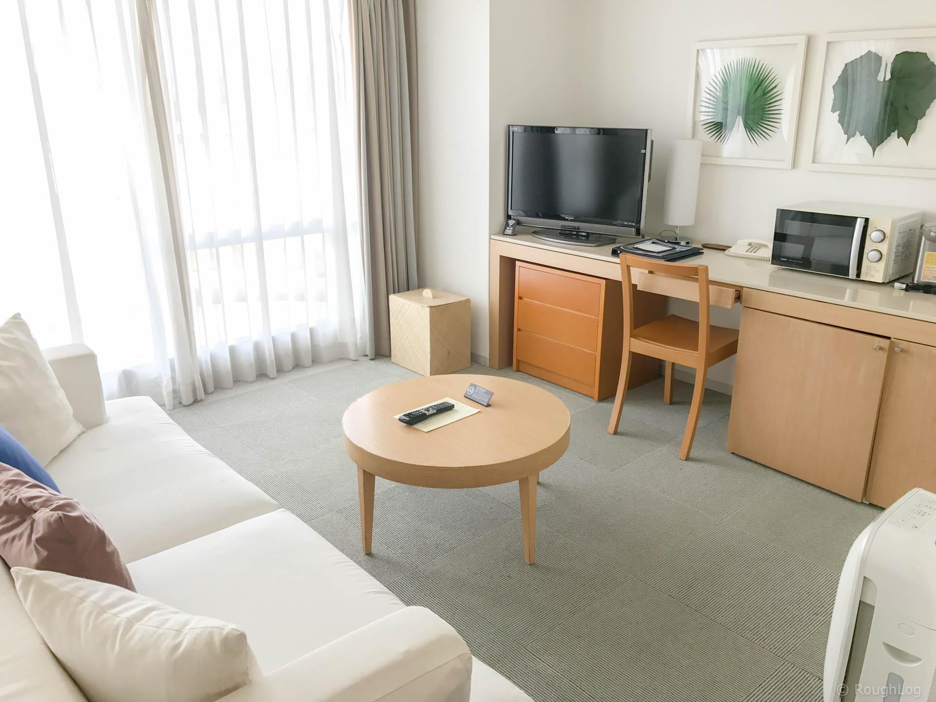 ザ・ビーチタワー沖縄のお部屋