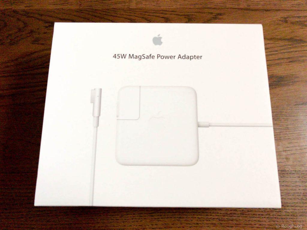 MacBook Airの電源アダプターが壊れたので新品購入