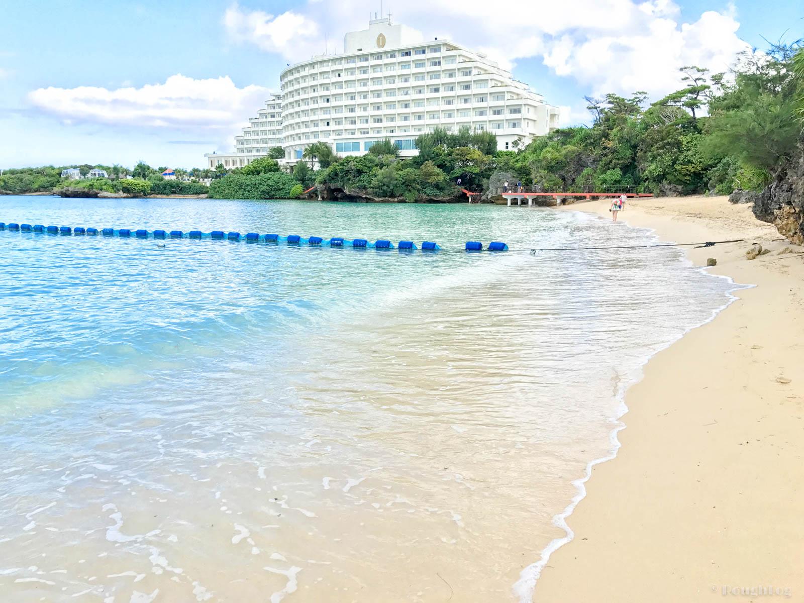 ANAインターコンチネンタル万座ビーチリゾートのビーチ