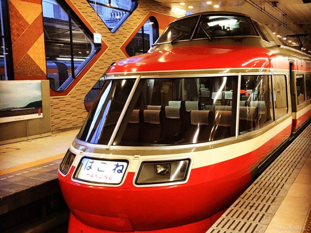 小田急電鉄ロマンスカーで行く箱根旅行