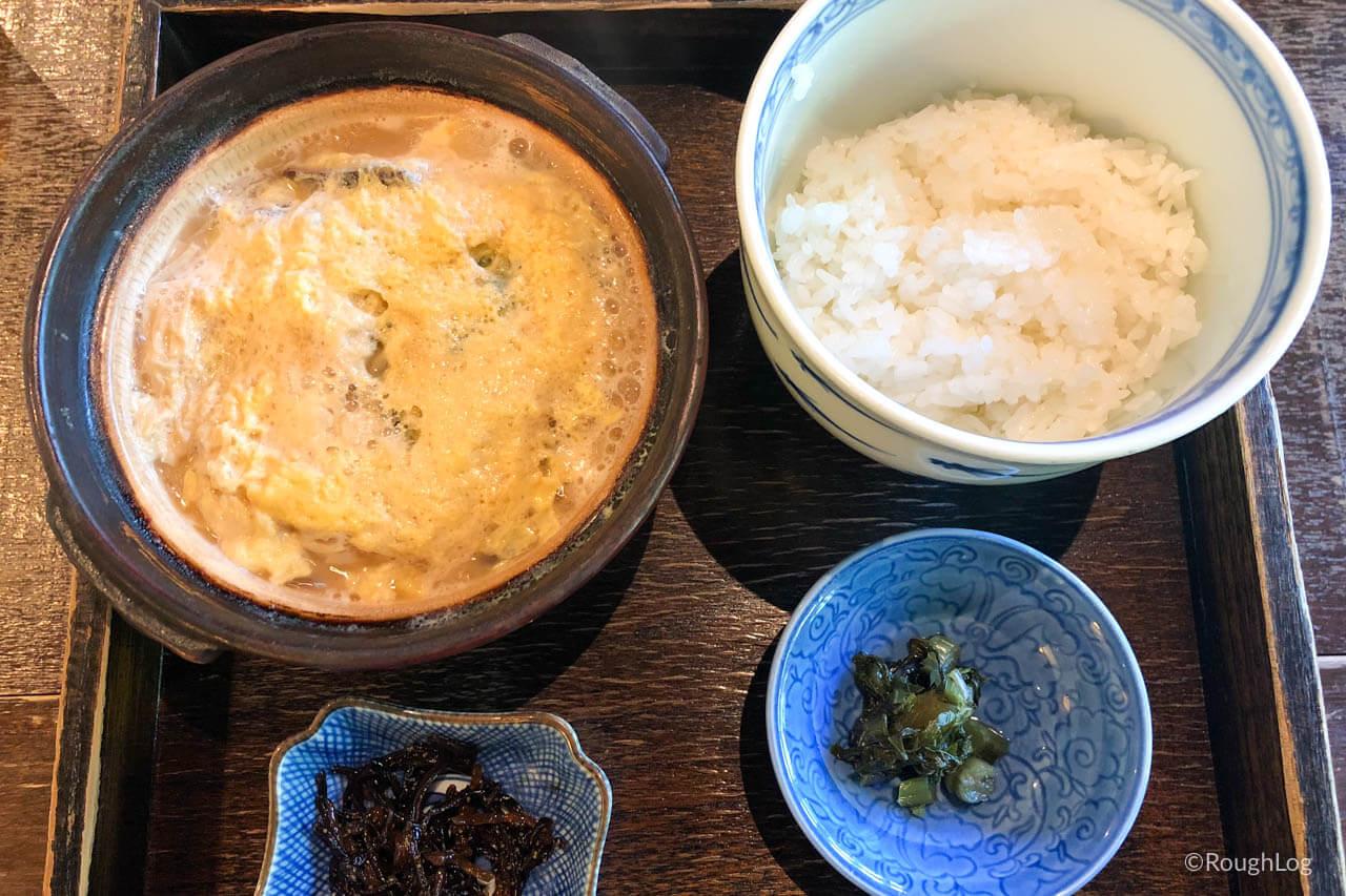 箱根「湯葉丼 直吉」の湯葉丼