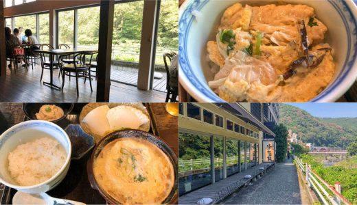 【箱根ランチ】アツアツ!ふわふわ!「湯葉丼 直吉」の上品な出汁のきいた湯葉丼がオススメ