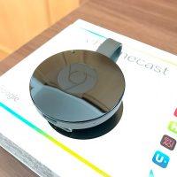 取付簡単!Chromecast(クロームキャスト)でAbemaTVやプライムビデオをテレビで再生。