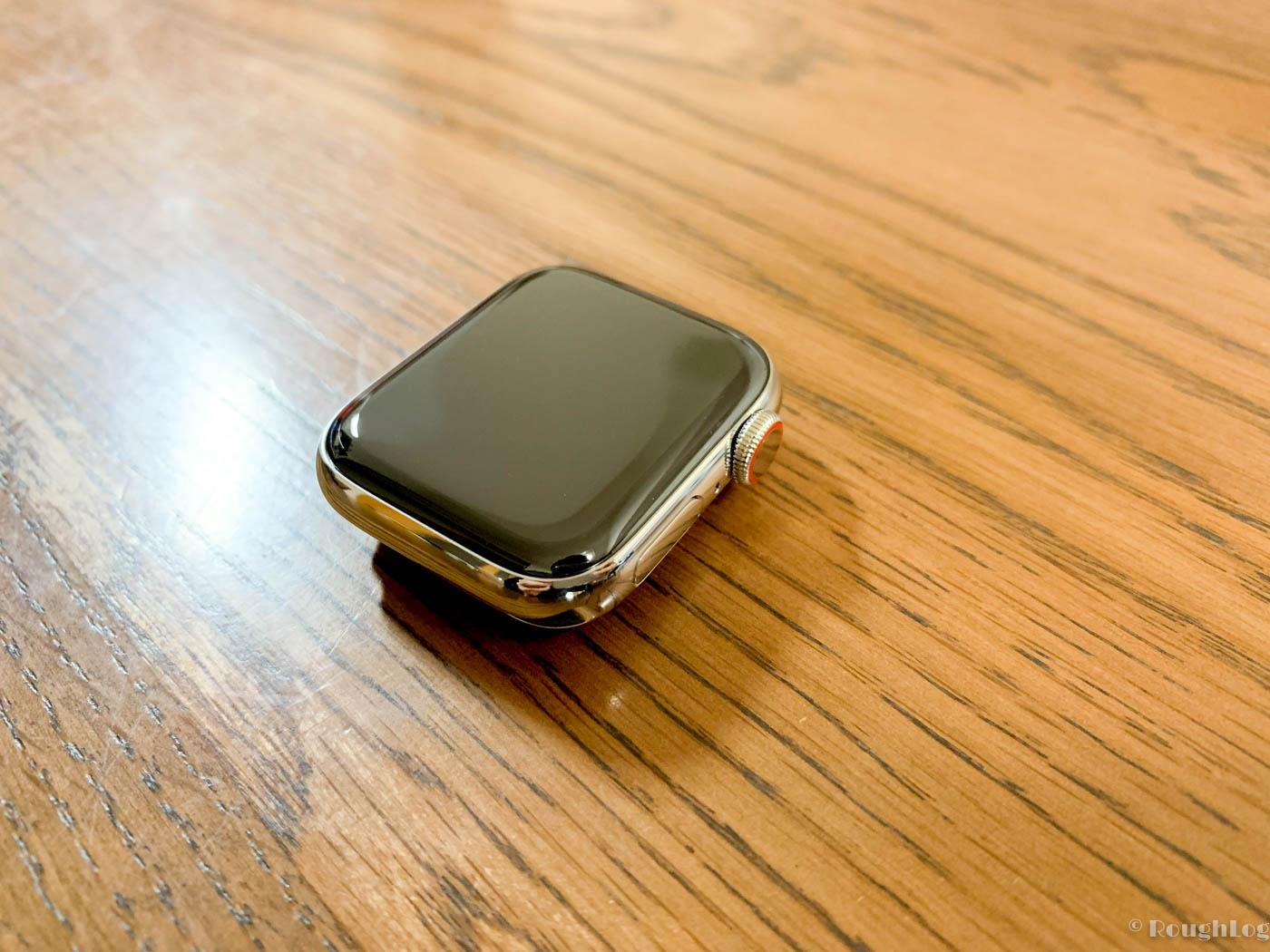 Apple Watch Series 4ステンレススチールケース(40mm)