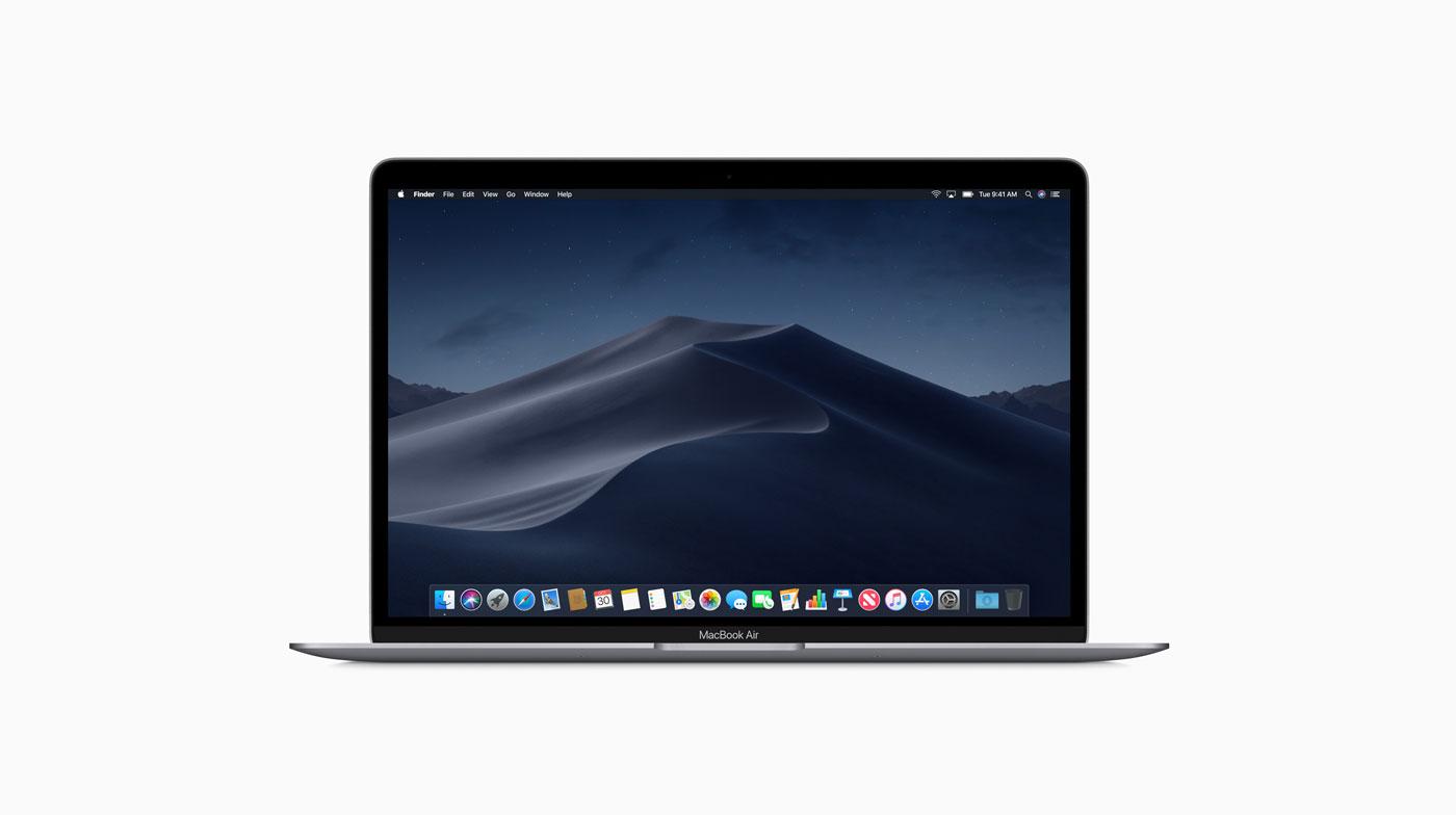 MacBook Air 2018のカラー選びで迷った末にスペースグレイを選択