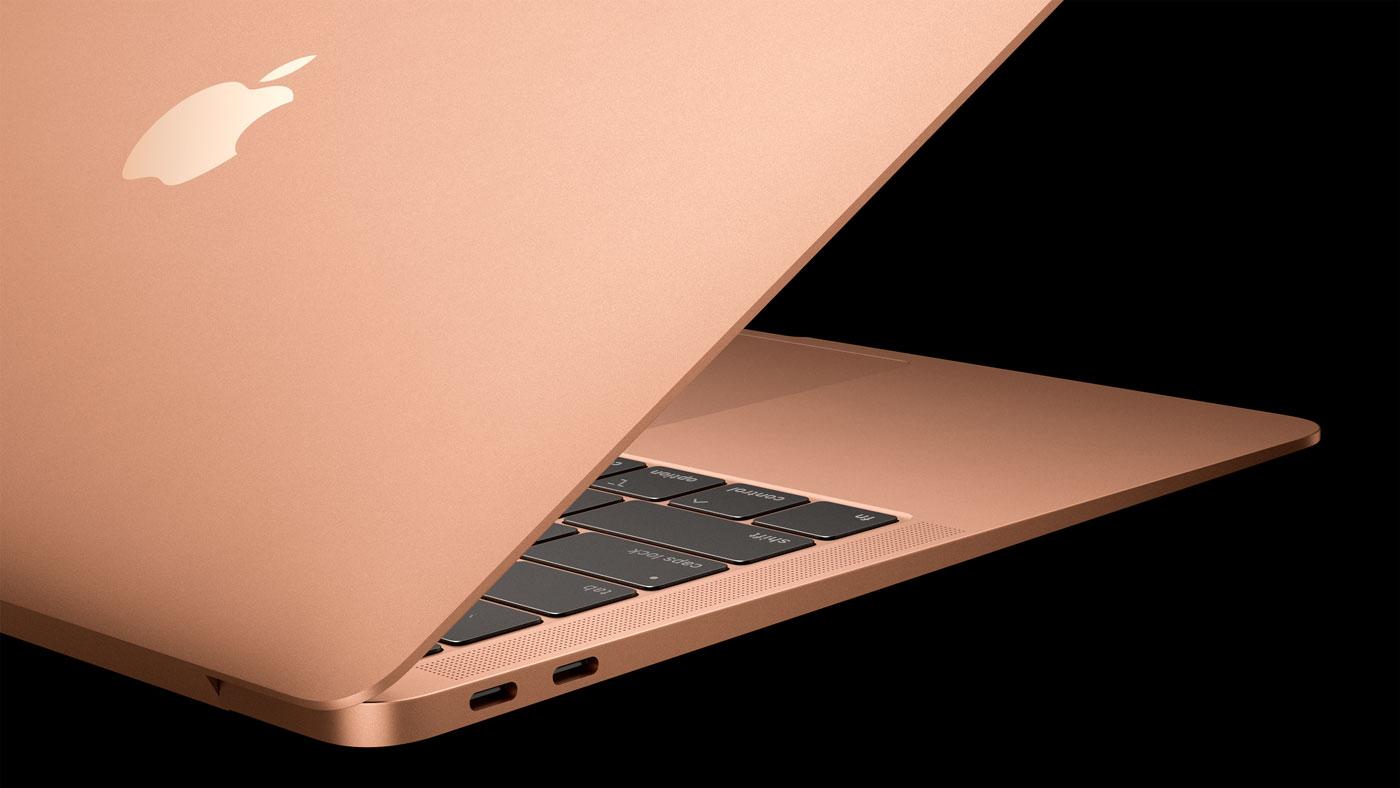MacBook Air 2018はUSB-Cポートを2つ搭載・より薄く軽くなった
