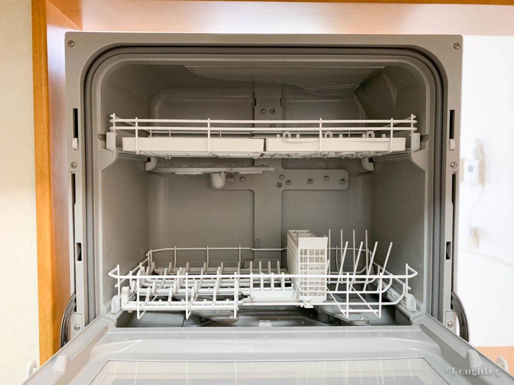 パナソニック製食器洗い乾燥機(食洗機)内部