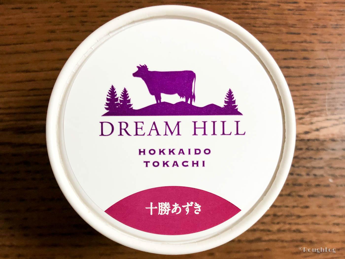 ドリームヒルのアイスクリーム十勝あずき味