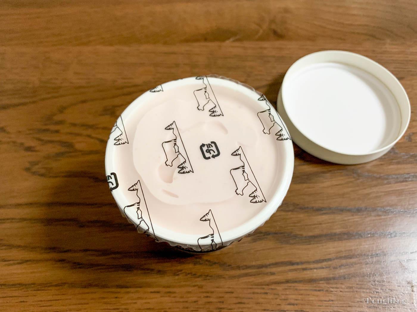 ドリームヒルのアイスクリームは丁寧に作られている