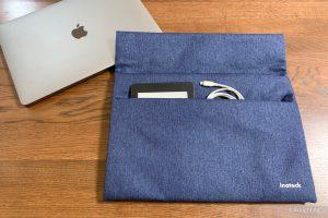 InateckインナーケースでMacBook Airやタブレットを保護