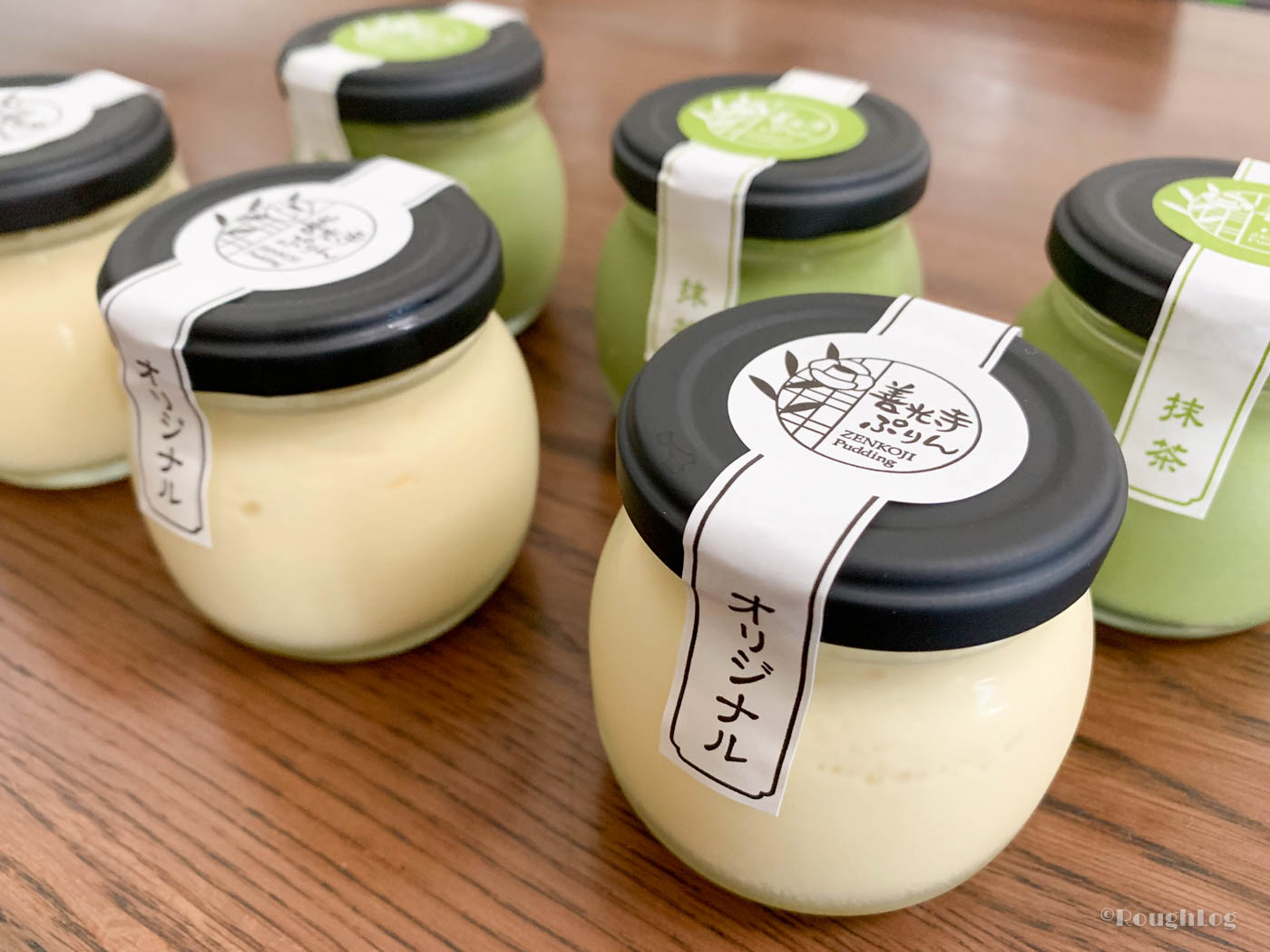 善光寺ぷりんの2種(オリジナル/抹茶)6個セット
