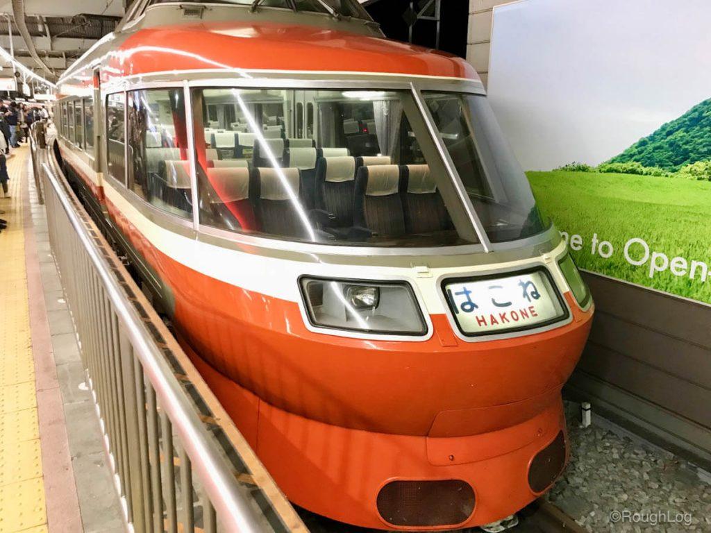 小田急電鉄の特急ロマンスカー
