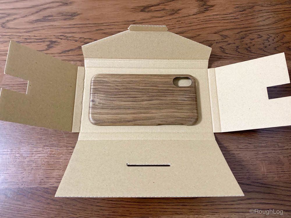 WOODWE ウォールナット ハードウッドケースの梱包