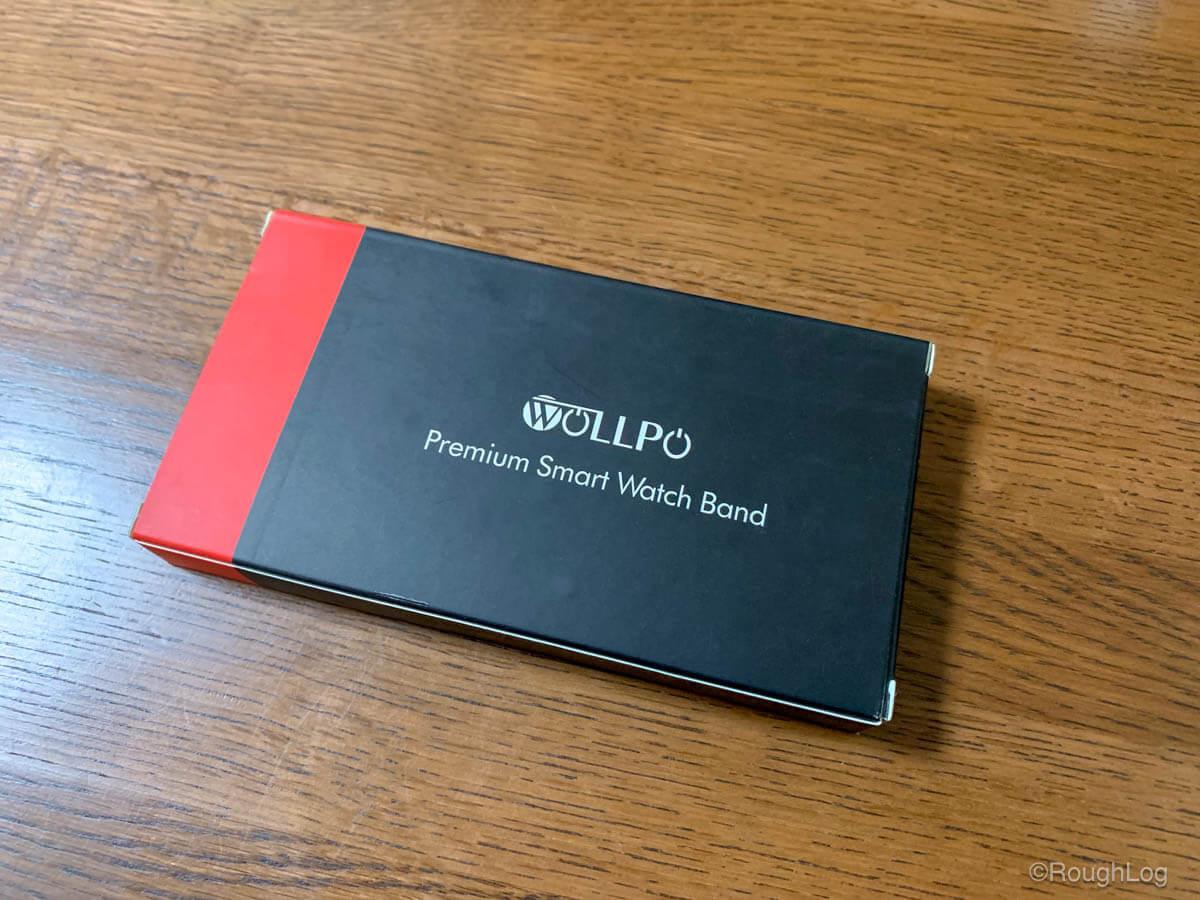 Wollpo Apple Watch レザーバンドのパッケージ