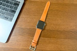 Wollpo Apple Watch レザーバンド購入レビュー