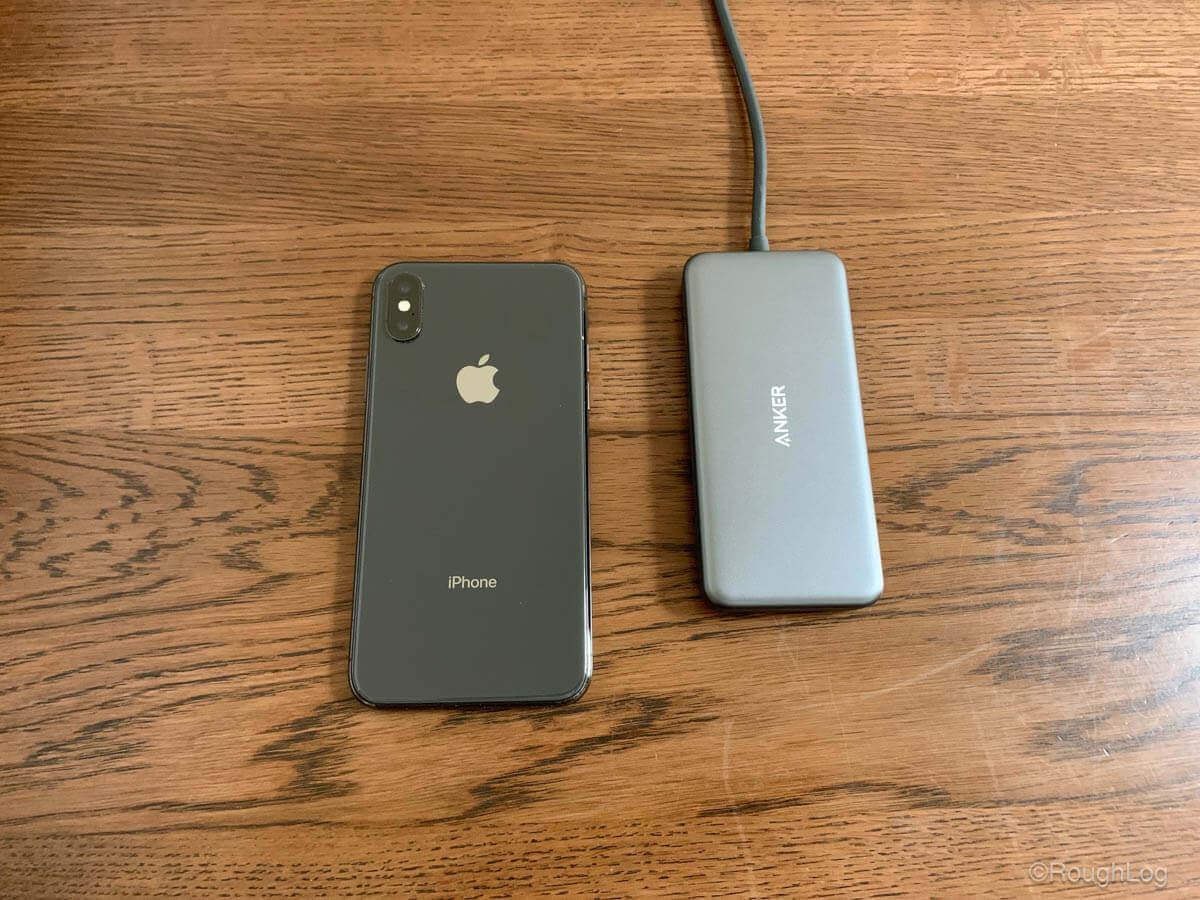 Anker 7-in-1 プレミアム USB-CハブとiPhoneXS