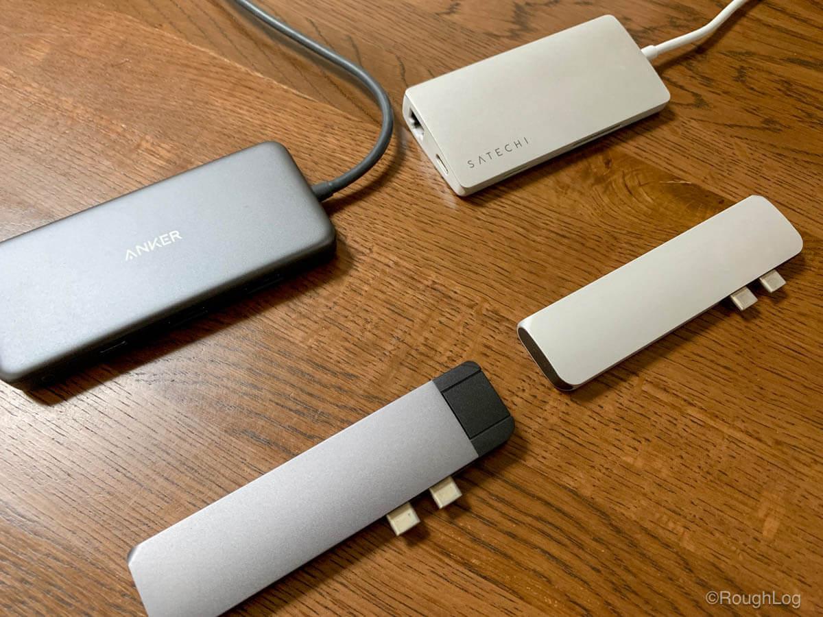 MacBook Air/ProにおすすめのUSB-Cハブを比較