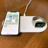 【レビュー】Apple WatchとiPhoneを同時ワイヤレス充電!Anker PowerWave+ Pad with Watch Holder