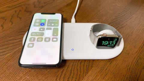 【レビュー】Apple WatchとiPhoneを同時にワイヤレス充電!Anker PowerWave+ Pad with Watch Holder