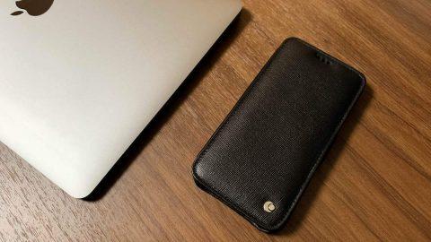 【レビュー】Noreve 手帳型iPhoneケース、上品な革の光沢とハンドメイドによる品質の良さがオススメ