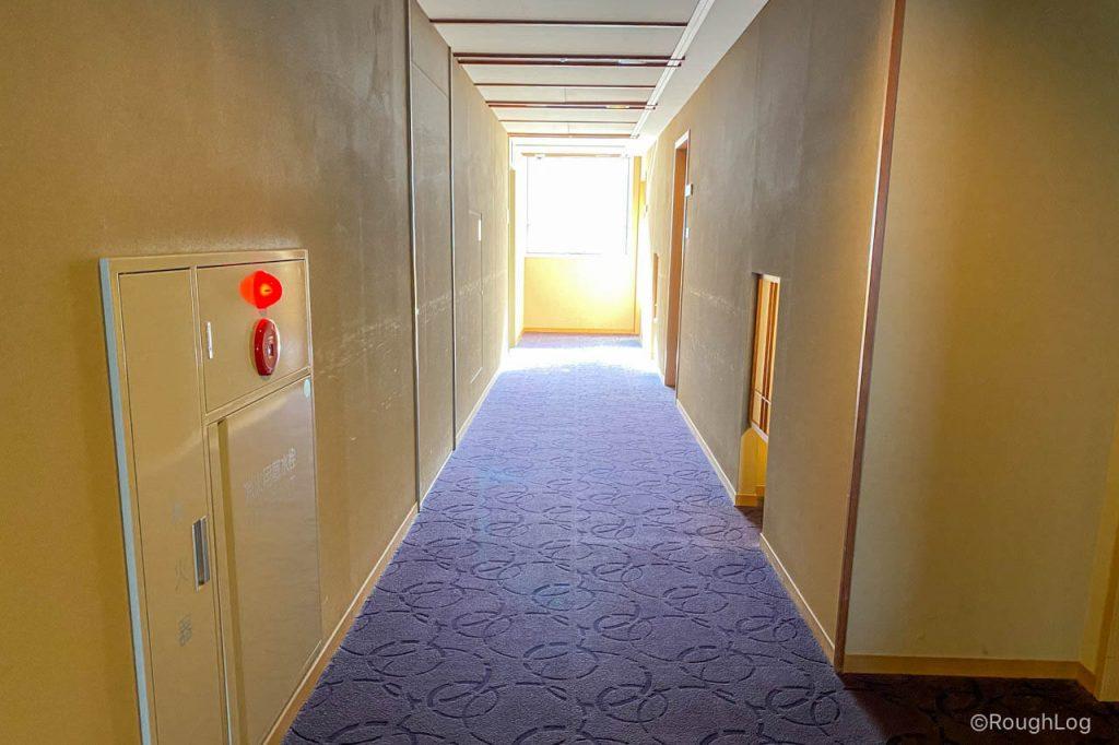 熱海後楽園ホテル(タワー館)の廊下